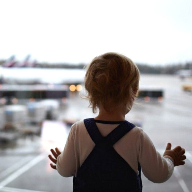 Tips for traveling with a baby or toddler!