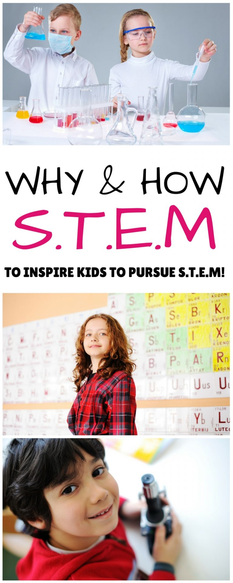 A fresh look at why S.T.E.M. learning is so important! S.T.EM. activities for kids and inspiration to help you and your kid learn to love it!