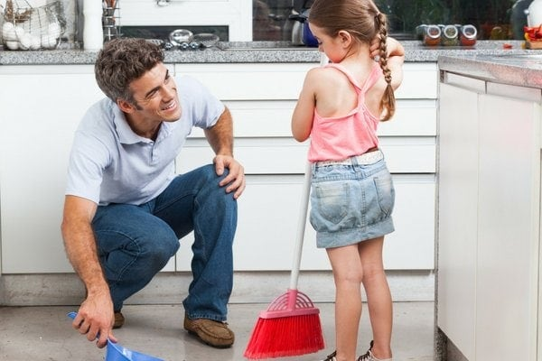 cleaning chore ideas for preschoolers