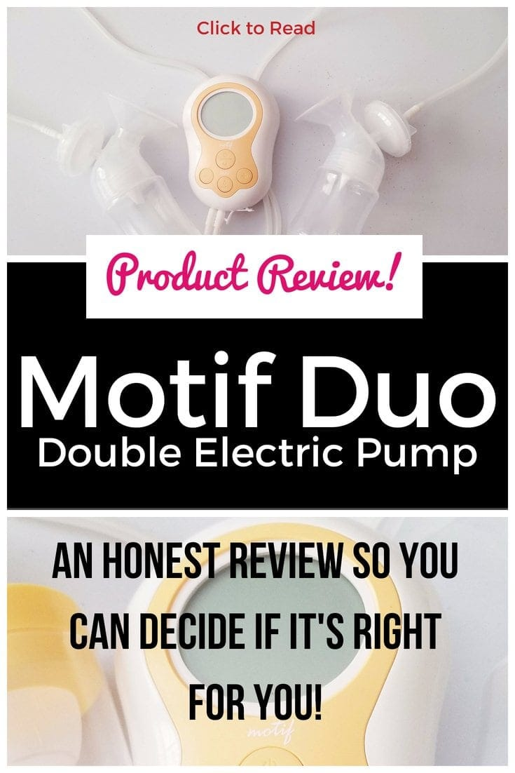 An honest and detailed review of the Motif Duo breastpump! Find out what it's like and if it's right for you! | breast pump review, breastpump review, breastfeeding, motif duo, medela comparison